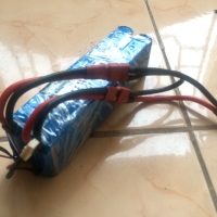 LiPo Battery 2600mah 50c 4s saddle pack