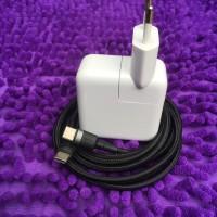 Charger MacBook 29 Watt Dijamin Original