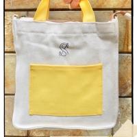 Stash Mini Tote Bag Yellow