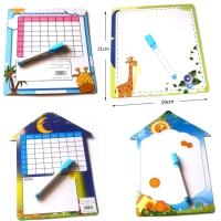 Mainan Edukasi Anak White Board + Spidol / Papan Tulis Marker