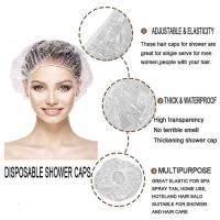 Disposable hair caps shower caps