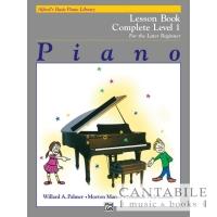 Alfred's Basic Piano Library: Lesson Book Complete - Level 1
