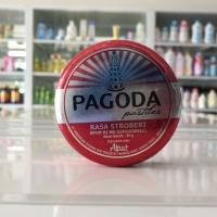 Permen pagoda pastiles rasa Strawberry