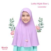 JILBAB ANAK INSTANT LAIKA Size L by Monia Hijab