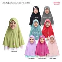 JILBAB ANAK INSTANT LAIKA Size XL by Monia Hijab