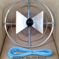 antena tv led lcd tabung/uhf/indoor, outdoor/+ kabel 10m dan jeck