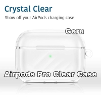 Airpods Airpod Pro Clear Case Casing transparan free tali strap hanger