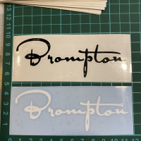 cutting sticker brompton frame sepeda 11x3,5cm