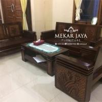 Kursi Tamu Koper Tumpuk Minimalis Furniture Jepara Meubel / Ruang Tamu