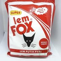 Lem Putih Lem Fox Kemasan Plastik 700gr Lem Kayu Lem Kertas lem Plimir
