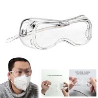 Safety goggles glasses rubber eye protection kacamata pelindung mata