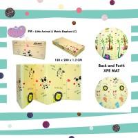 XPE Playmat lipat matras bayi folding reversible 2 sisi motif C