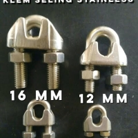 Klem Seling 12mm Wire Clamp Wire Rope Clip