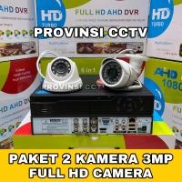 Paket CCTV 4 Channel 1 Kamera 3MP Full HD Komplit Siap Pasang