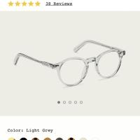Original Kacamata Moscot Jared Light Grey