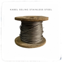 Kabel Seling 2mm Stainless Steel / Wire Rope SS 2 mm Sling
