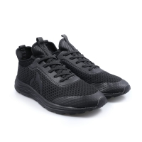 Sepatu running Ortuseight original Harvard all black new 2020