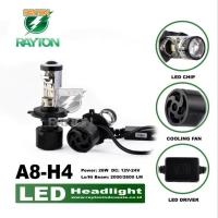 Mini Projector Led H4 H7 3000K 6000K RTD A8 Original