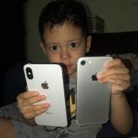 Iphone x 64Gb inter resmi pakean sendiri