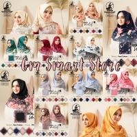 Terbaru! Kerudung UMAMA VOAL Motif Segi Empat Hijab Jilbab