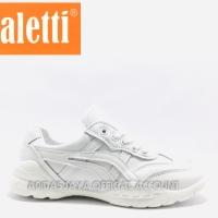 Sepatu Sneakers Spaletti SPA19-187 WH Original product