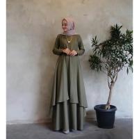 [ Promo Flash Sale ] Alana Maxi Size S M L XL | Fashion terbaru