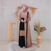 [ Promo Flash Sale ] Mina Dress Size S M L XL | Gamis terbaru