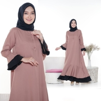 [ Promo Flash Sale ] Adelsha Maxi Size S M L XL | gamis terbaru