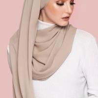 Hijab Ellysha BELLA EXCLUSIVE DRAPPERY SHAWL MOCCA