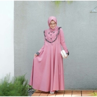 [ Promo Flash Sale ] Kimmy Dress Size S M L XL FASHION MUSLIM TERBARU