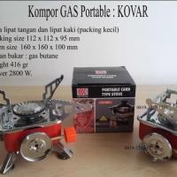 Kompor Gas Mini Camping / Portable Stove / Kompor Camping Gas Kovar