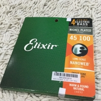 14052 Elixir 4string electric bass string 45-100