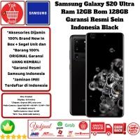 Samsung Galaxy S20 Ultra 12GB/128GB 12/128GB 12/128 Resmi Sein-Black