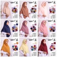 Voal Miracle Plain syari'i umama scarf hijab kerudung segiempat