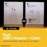 Paket Kabel dan charger iPhone Fast charginf