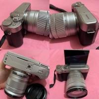 Kamera fujifilm X-A10 xa10 fuji mirrorless hitam