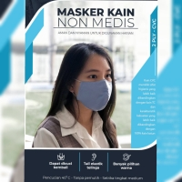 MASKER KAIN NON MEDIS EARLOOP DUCKBILL PO READY KAMIS 23/7
