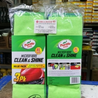 Turtle Wax Microfiber Clean & Shine Ukuran XL (isi 3pcs)