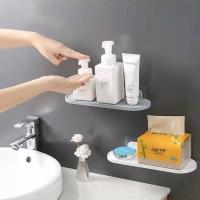 Rak Kitchen Bathroom Wall Shelf Multi-purpose 3m Self Adhesive Tempel