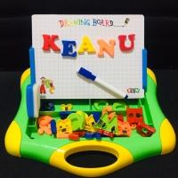 Magnetic Learning Case Mainan Edukasi Anak Papan Tulis Magnet