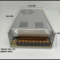 power suply / Travo / Adaptor CCTV 30A 30 Ampere