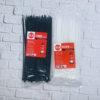 HZ Cable Ties 2,5 x 200 mm Black and White