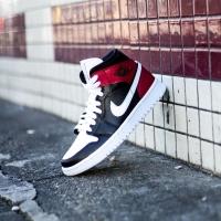 Nike Air Jordan Mid 1 Noble Red ORIGINAL
