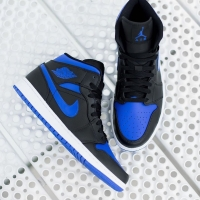 Nike Air Jordan Mid 1 Royale Blue ORIGINAL