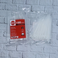 HZ Cable Ties 2,5 x 100 mm Black and White