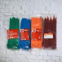 HZ Cable Ties 3,6 x 200 mm Color/kabel tis warna/hijau/merah/kabel tie