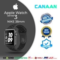 Apple Watch / iWatch Series 3 Nike 38mm GPS Black/Grey NEW BNIB
