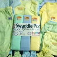 Paket Lengkap bedong & Baju bayi Baru Lahir