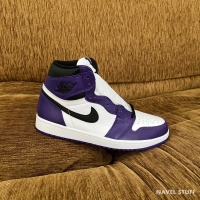 NIKE Air Jordan 1 High Court Purple White 2.0