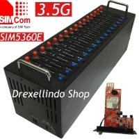 Modem Pool 16 Port 3G USB SIMCOM SIM5360E